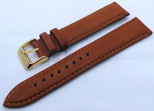 Poljot Leather Strap 20mm Brown-Pol.20.L.R.Br.007