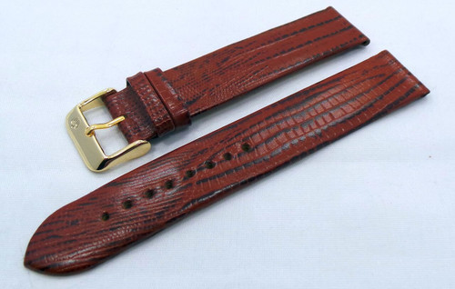 Poljot Leather Strap 20mm Brown-Pol.20.L.R.Br.008