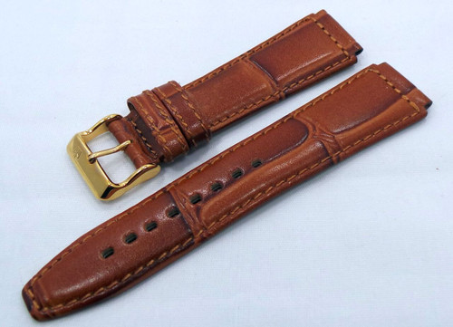 Poljot Leather Strap 20mm Brown-Pol.20.L.R.Br.009