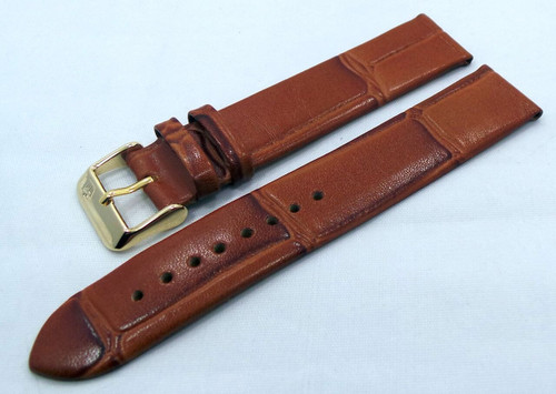 Poljot Leather Strap 20mm Brown-Pol.20.L.R.Br.010