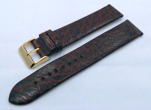 Poljot Leather Strap 20mm Brown-Pol.20.L.R.Br.011