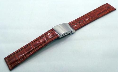 Poljot Leather Strap 20mm Brown-Pol.20.L.S.Br