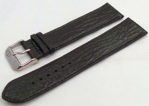 Poljot Leather Strap 22mm Black-Pol.22.L.S.Bk