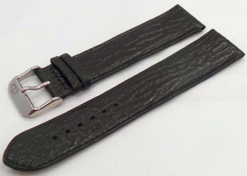 Poljot Leather Strap 22mm Black-Pol.22.L.S.Bk
