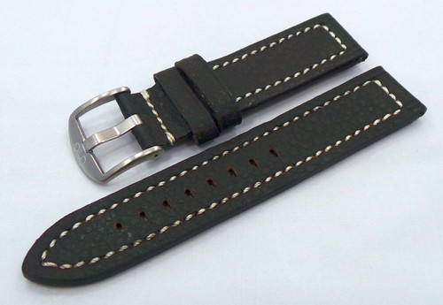 Uniq Leather Strap 22mm Brown/White-Unq.22.L.M.Br.W
