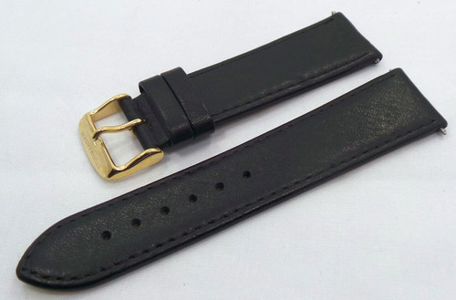 Sturmanskie Leather Strap 22mm Black-Str.22.L.R.Bk