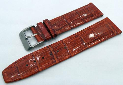 Buran Leather Strap 22mm Brown-Bur.22.L.M.Br