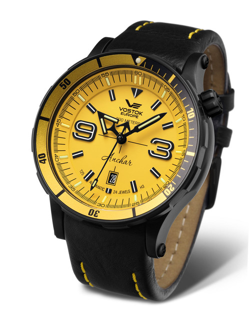 Vostok-Europe Anchar Mens Diver Watch NH35-510C530