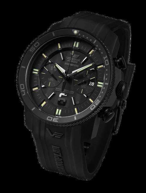 Vostok-Europe Ekranoplan Caspian Sea Monster Watch 6S21-546C510
