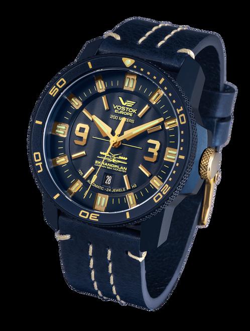 Vostok-Europe Ekranoplan Caspian Sea Monster Watch NH35-546D511