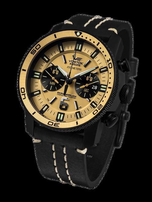Vostok-Europe Ekranoplan Caspian Sea Monster Watch 6S21-546C512