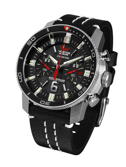 Vostok-Europe Ekranoplan Caspian Sea Monster Watch 6S21-546A508
