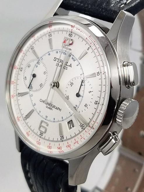 Poljot Strela Chronograph Watch 3133/2121204 NOS