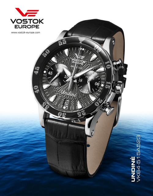 Vostok-Europe Undine Ladies Chronograph Watch VK64/515A523