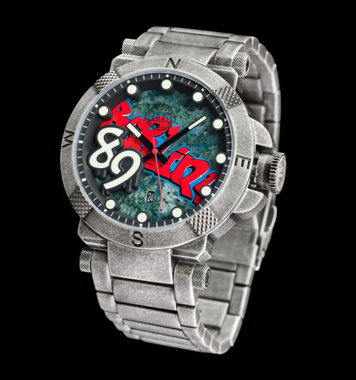 The Fall Of The Berlin Wall Watch - 48mm Colored Dial - Bracelet