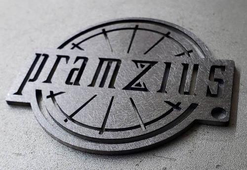 Premium Quality Keychain of Pramzius Logo