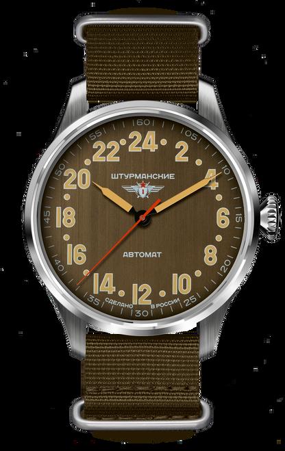 Sturmanskie Arctic Automatic Russian 24-Hour Watch 2431/6821343