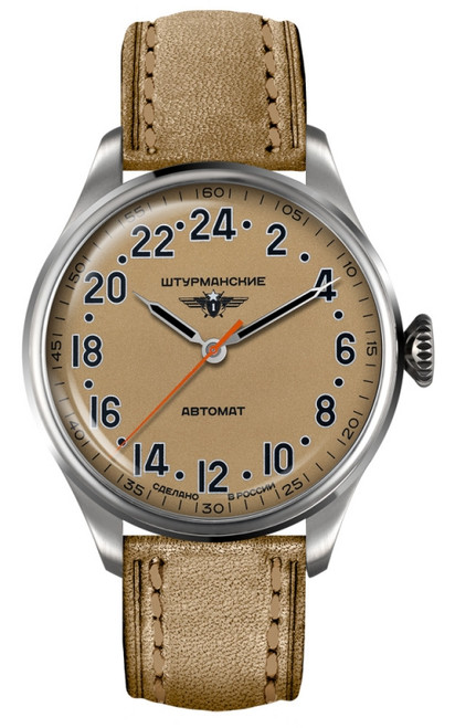 Sturmanskie Arctic Automatic Russian 24-Hour Watch 2431/6821344