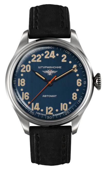 Sturmanskie Arctic Automatic Russian 24-Hour Watch 2431/6821347
