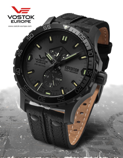 Vostok-Europe Expedition Everest Underground Automatic Watch YN84/597D542
