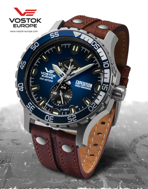 Vostok-Europe Expedition Everest Underground Automatic Watch YN84/597A545