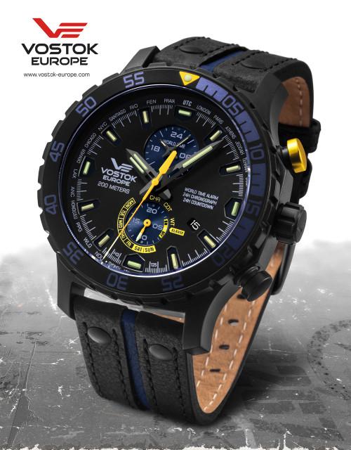 Vostok-Europe Expedition Everest Underground Quartz Alarm Watch YM8J/597C547