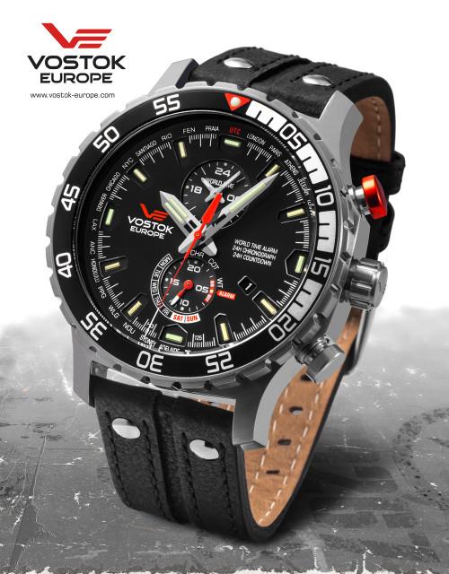 Vostok-Europe Expedition Everest Underground Quartz Alarm Watch YM8J/597A549