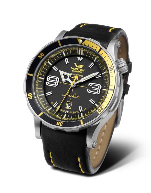 Vostok-Europe Anchar Mens Diver Watch NH35A/510A522