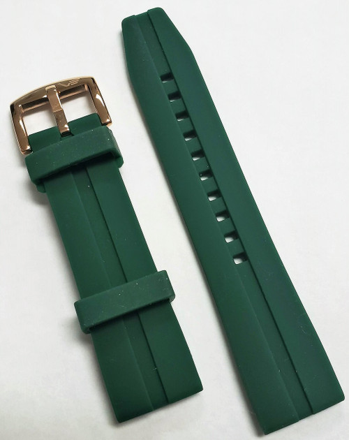 Vostok Europe Almaz Silicon Strap 22mm Green ALM.22.S.R.G