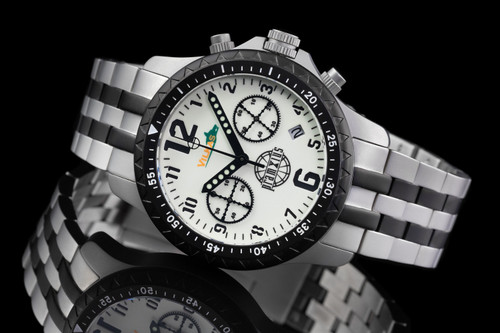 Iron Wolf Full Lume Dial Military Chronograph Watch P712304