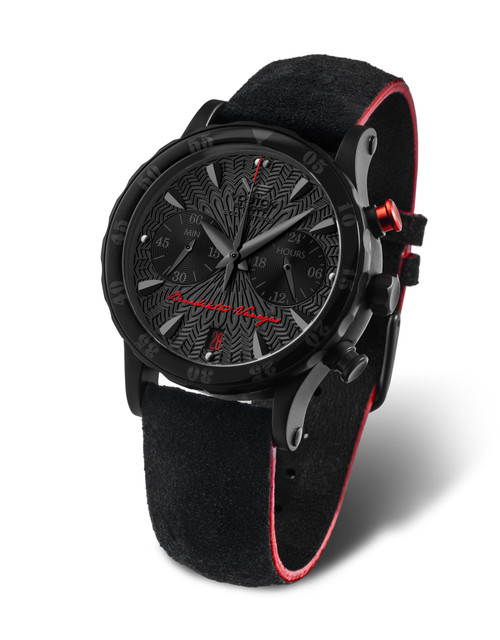 Vostok-Europe Benediktus vanagas Chronograph Watch VK64/515C395