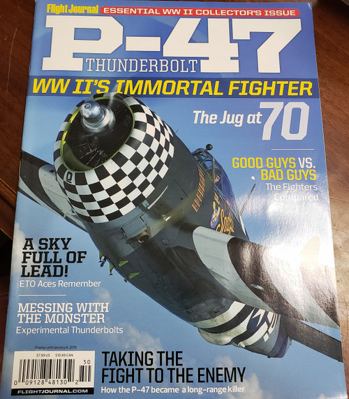 Flight Journal P-47 Thunderbolt edition