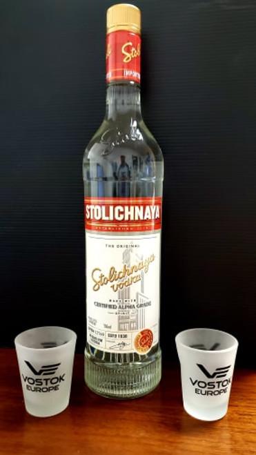 Set of 2 Vostok-Europe Shot Glasses