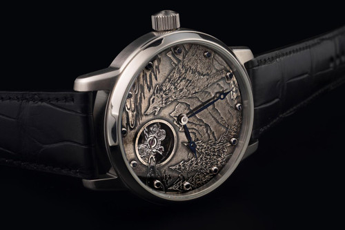 Sturmanskie Custom, Hand-Engraved Skeleton or Custom Dial Image Watch