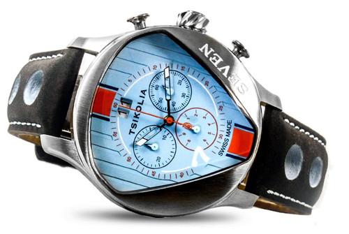 Tsikolia (UNIQ) Seven Limited Edition Blue and Orange ES1063B70S