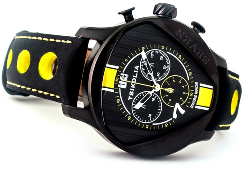 Tsikolia Seven Limited Edition Black and Yellow