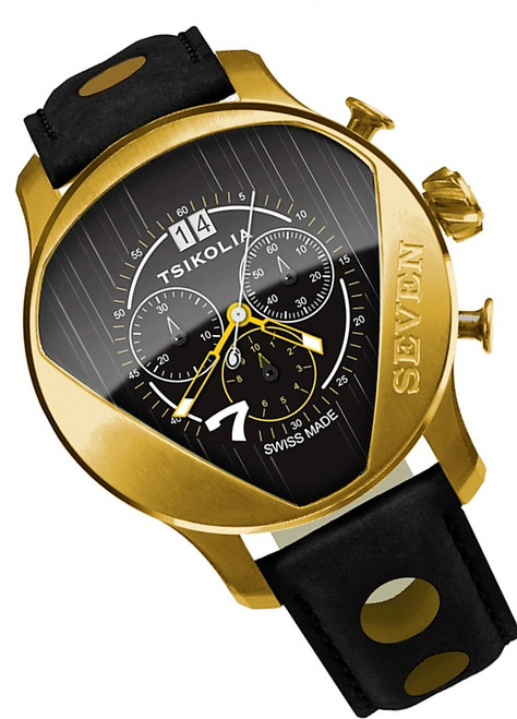 Tsikolia Seven Limited Edition Gold With Black
