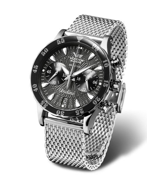 Vostok-Europe Undine Ladies Chronograph Watch VK64/515A523B