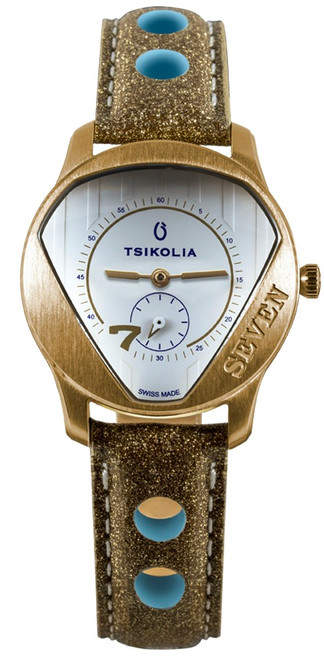 Tsikolia Ladies Seven Limited Edition Gold With White