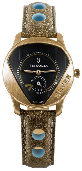 Tsikolia Ladies Seven Limited Edition Gold With Black