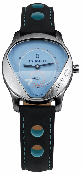 Tsikolia Ladies Seven Limited Edition Blue Dial
