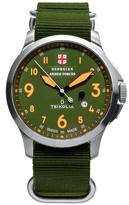 Tsikolia Georgian Armed Forces GAF44/3 Khaki