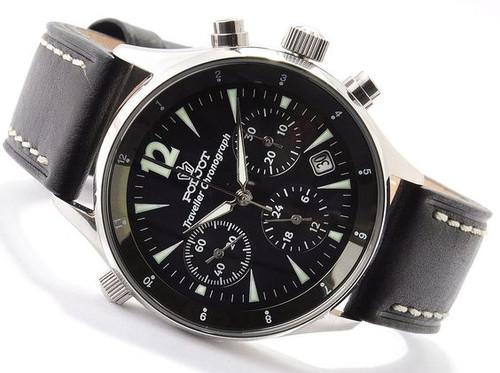 Poljot Dual-Time Traveller Russian Chronograph Watch (NOS)
