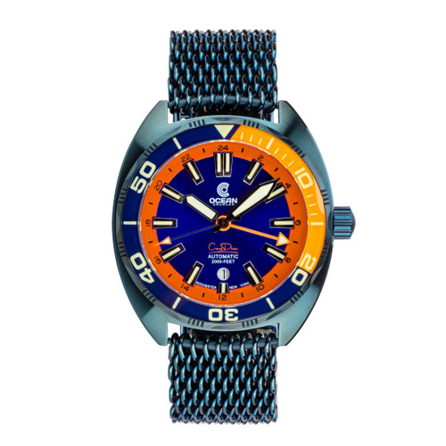 Ocean Crawler Core Diver GMT - Blue Steel