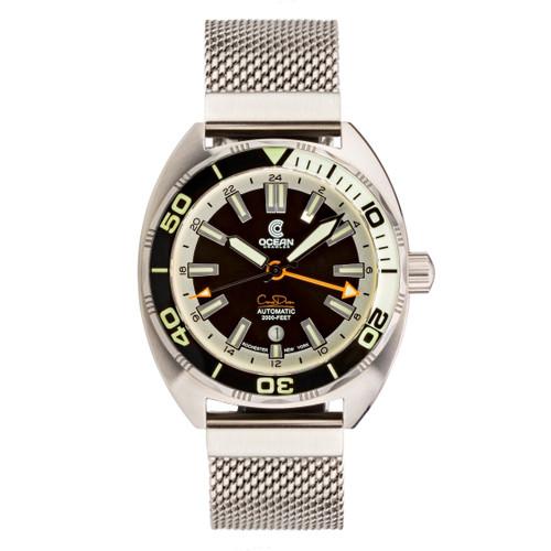 Ocean Crawler Core Diver GMT - Black/White