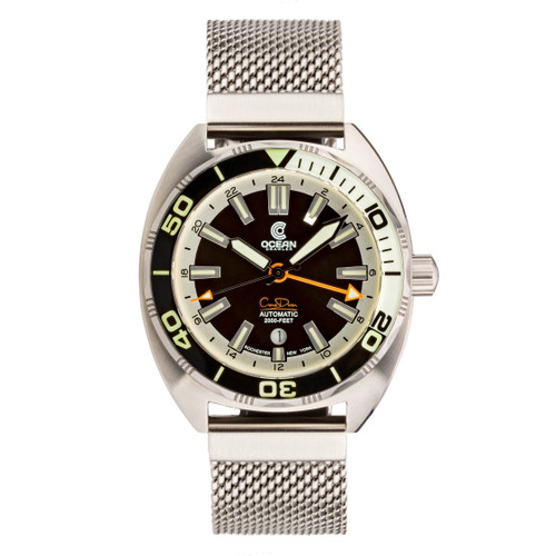 Ocean Crawler Core Diver GMT - Black/White