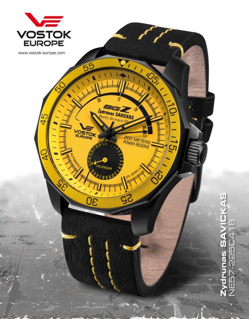 Vostok-Europe BIG-Z Power Reserve Watch NE57/225C418