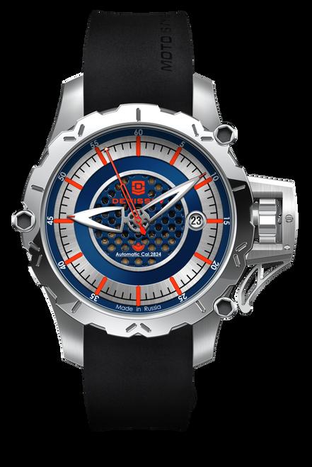 Denissov Moto Style Automatic Russian Watch/ Swiss Movement 2824.1030.1.A1
