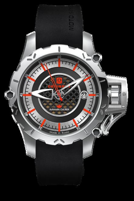 Denissov Moto-Style Automatic Russian Watch/ Swiss Movement 2824.1030.1.A2