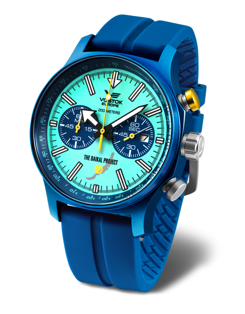 Vostok-Europe World Record Baikal Project Limited Edition Watch